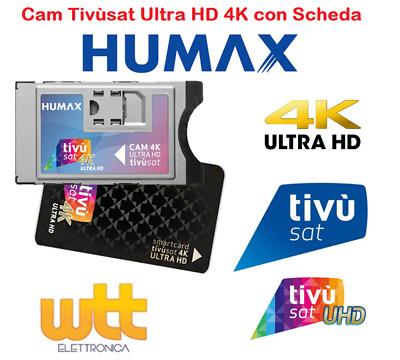 Humax - CAM Tivùsat 4K Ultra HD