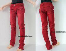 1/3 BJD outfits 70cm male doll Luts SSDF size red jeans #M3-52SSDF ship US