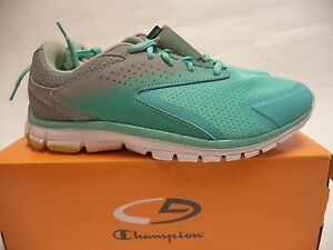 befb53e97f4 C9 Champion Women Legend Athletic running Shoes green gray sz 6 new ...