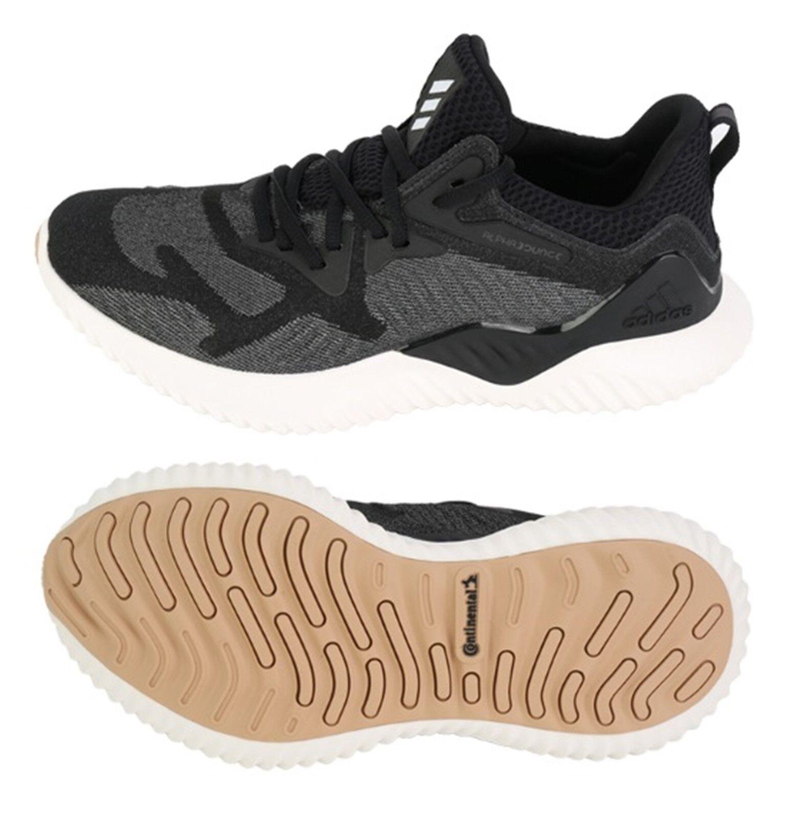 Zapatos De Entrenamiento Adidas Mujer Alfa rebote Correr Zapatillas Gimnasio Zapato Negro CG5581
