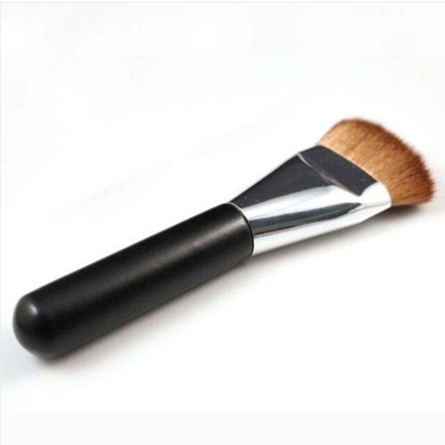 Flat Contour Brush Face Cheeks Blend Cosmetic Brush Professional Makeup Tool- LD