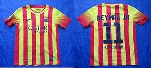 Neymar Jr  11 BARCA Nike FC Barcelona away shirt  boy M 137-147cm ffb4a6541
