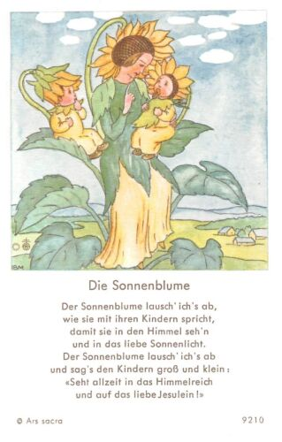 "Santo figurita imagen gebetbild /""ida bohatta/"" Holy card Ars sacra /""h302/"""