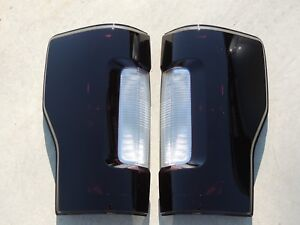 17 19 F250 Smoked Tail Lights Oem Non Blis Non Led Tinted