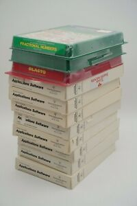 Vintage-Lot-of-11-TI-99-4-A-Games-Complete-in-Box-with-Manuals