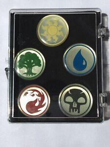 Details about Mtg Magic Pin Set of 5 Mana Symbols Original Licensed Pin Set
