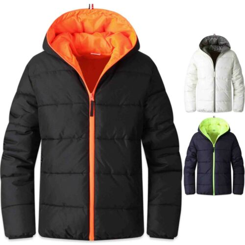 New Mens Hoodie Padding Coat Blazer Casual Jacket Jumper Outdoor Parka Top T035