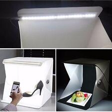 """Mini Photo Studio 9"""" Photography Light Room Lighting Tent Kit Backdrop Cube Box"""
