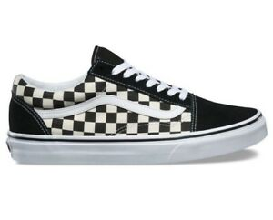 Image is loading Vans-Old-Skool-Mens-Shoes-Checkerboard-Black-White 199d79ae1