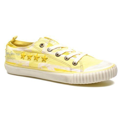 PEPE JEANS INDUSTRY FLAG LOW CUT  SNEAKER yellow NEU NEU NEU & OVP da3be3