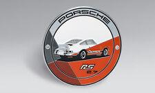 Porsche 911 Carrera RS 2.7 Grill Badge Kühlergrill Plakette orange Limitiert