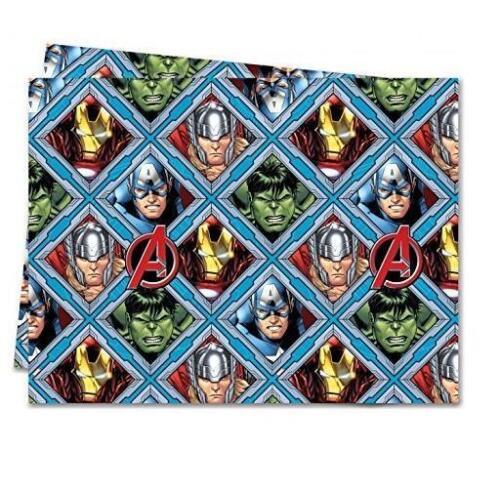 Avengers Plastic Fête Table Cover Disney Marvel Hulk Thor Iron Man New Poison