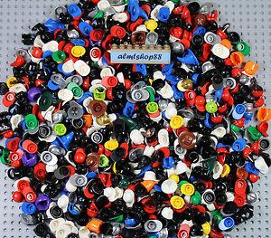 LEGO CRASH HELMETS LOT 7 Classic Colors  standard style minifig accessories