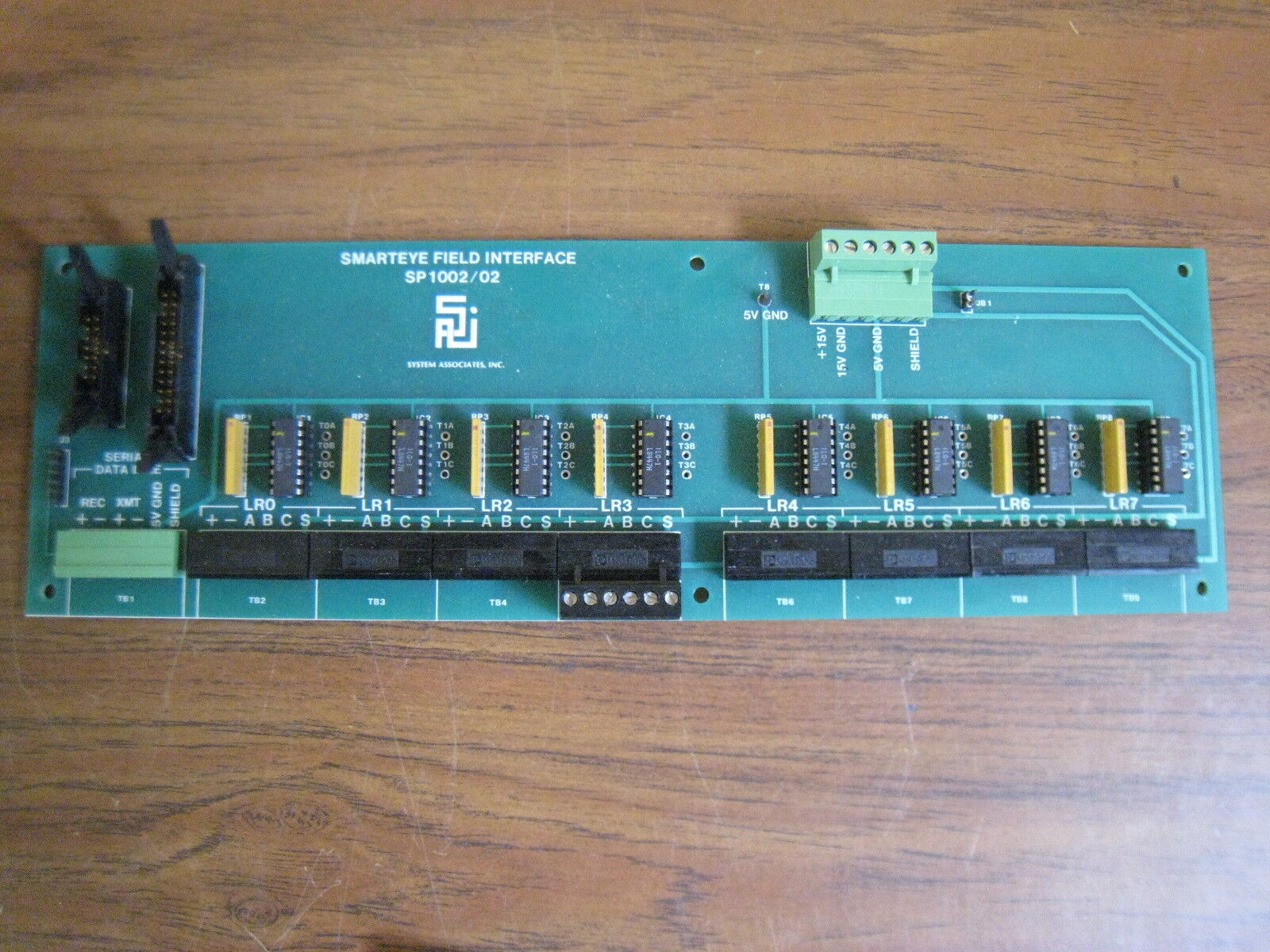 SMARTEYE SP1002 02 ELECTRONIC ASSEMBLY PCB FIELD INTERFACE PC BOARD USED