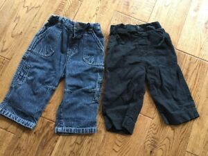 Bottoms Baby Boy Trousers Size 3-6 Months