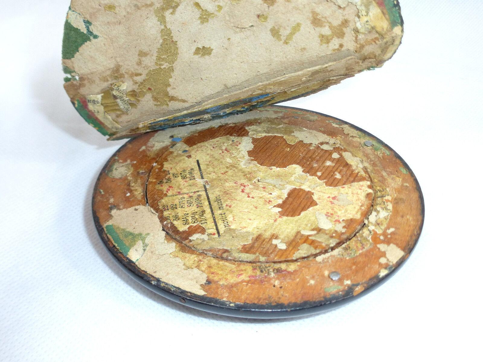 BEAU miniature dans bois armature en bois dans Erbach um 1900 3b3a06