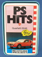 Quartett - PS HITS - BIELEFELDER SPIELKARTEN - Nr. 0246 - Auto - NEU in Folie
