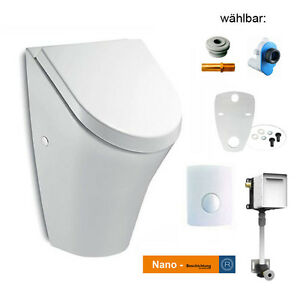 urinal roca nexo inkl deckel mit softclose nano. Black Bedroom Furniture Sets. Home Design Ideas