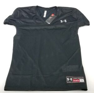 Under-Armour-Mens-NFL-Football-Practice-Jersey-UA-Black-Mens-Size-Large-Mesh
