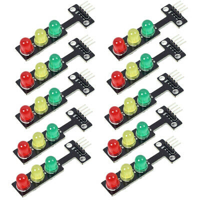 5pcs Mini-Traffic Light 5V 5mm LED Display Module for Arduino raspberry pi