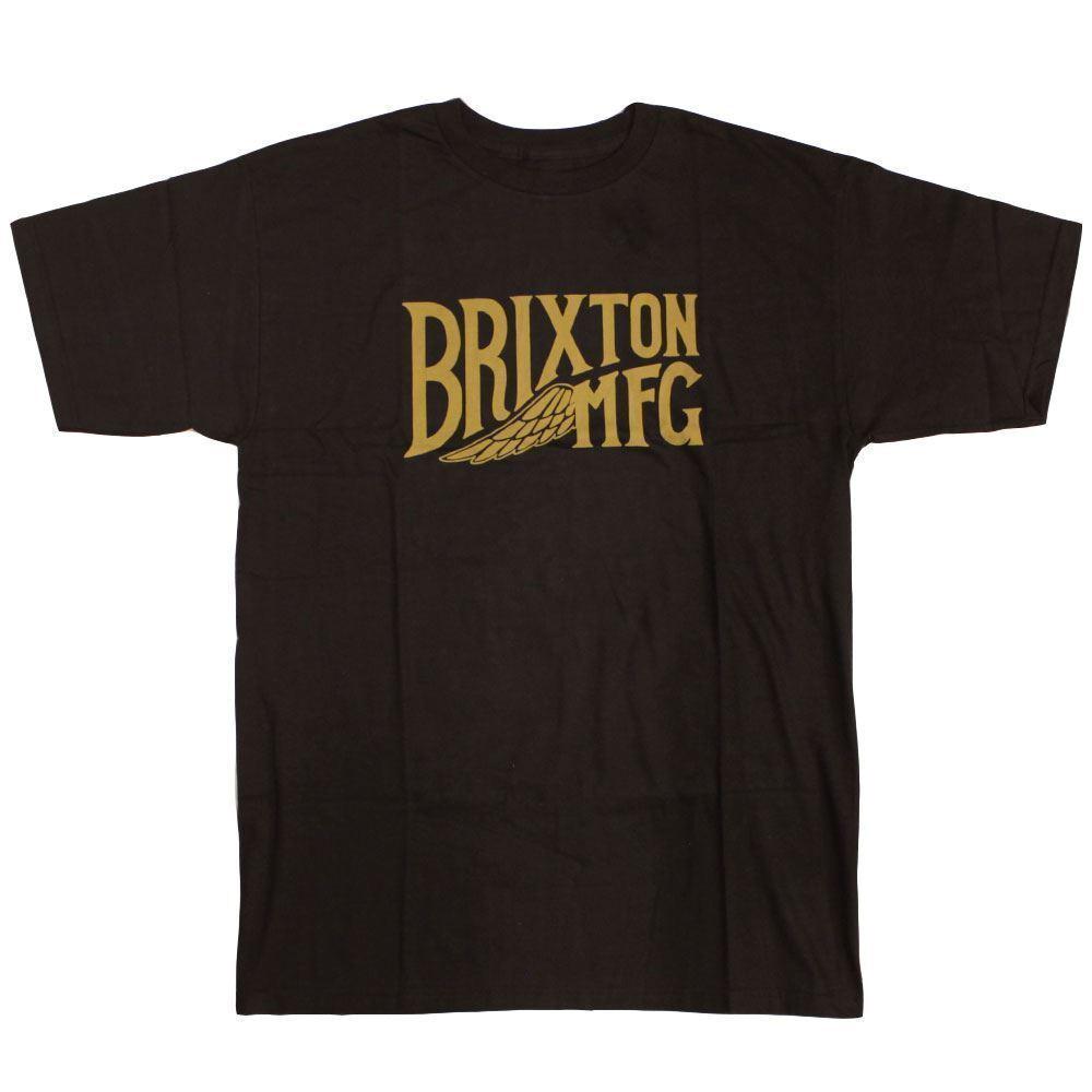 Brixton Girder T-Shirt Schwarz  | Ich kann es nicht ablegen  | Online Store  | Klein und fein