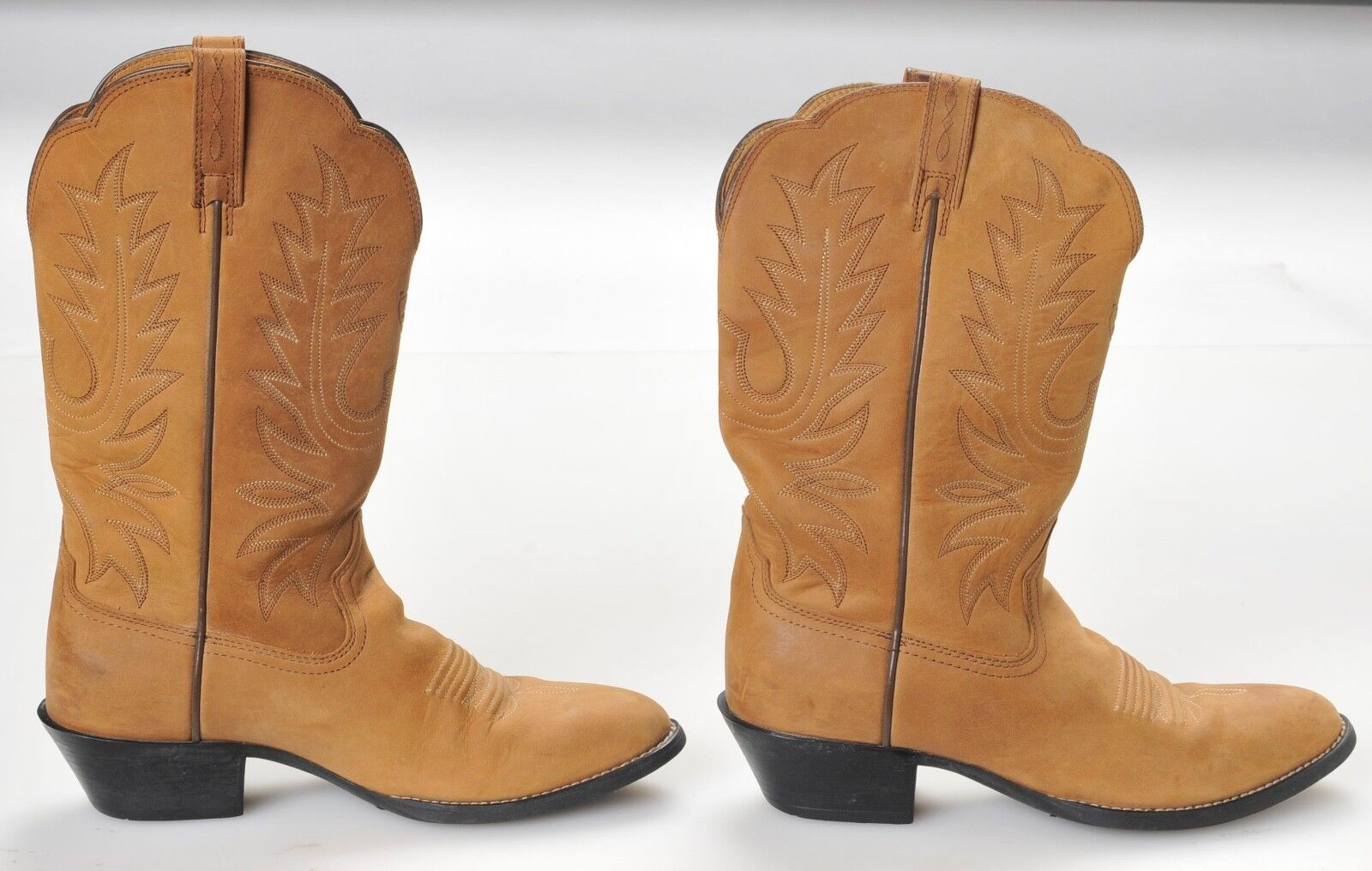 Ariat Heritage Cowboy Boots 15725 Women's 7B Tan Leather Western