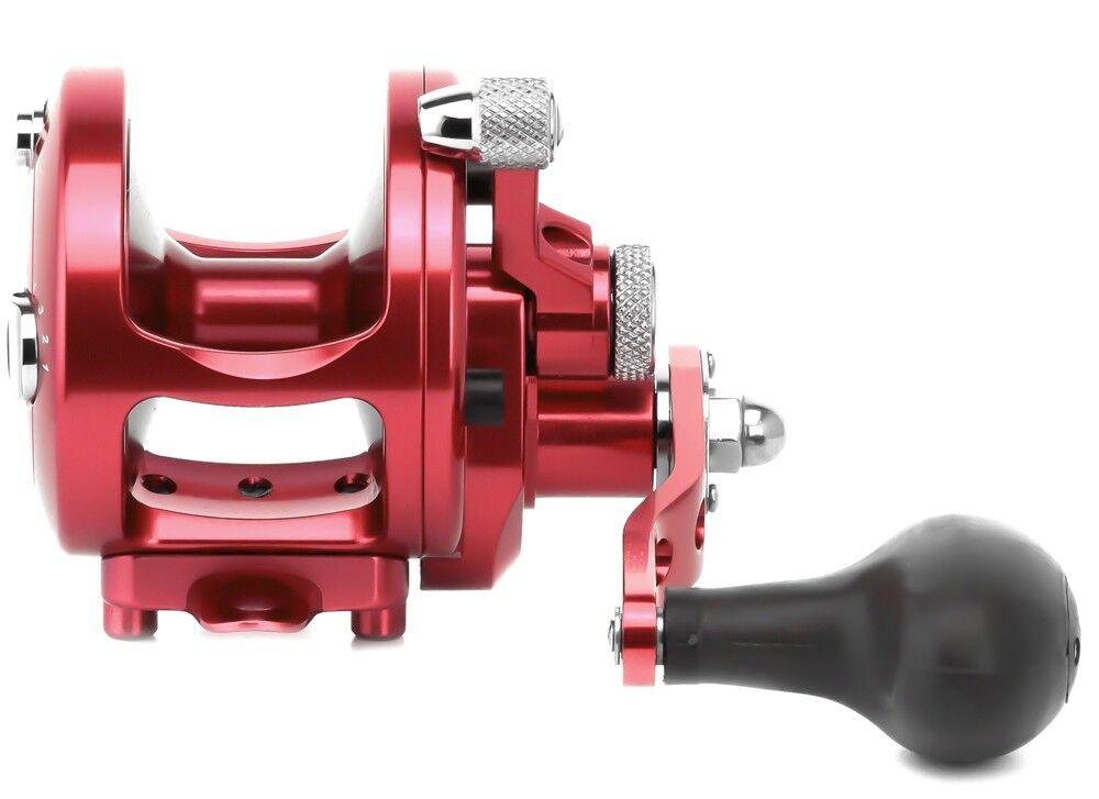 Avet MXJ 5.8 MC Cast Single  Speed Lever Drag Reel MXJ5.8MC Right Hand - RED  popular