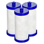 3-Pack-Refrigerator-Water-Filter-Frigidaire-WF1CB-EFF-NGRG2000-Kenmore-46-9910 thumbnail 1