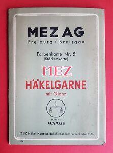 Livraison Rapide Couleurs Carte Motif Carte Nº 5 Omd Ag Freiburg Breisgau Häckelgarne (f16712-afficher Le Titre D'origine Magasin En Ligne