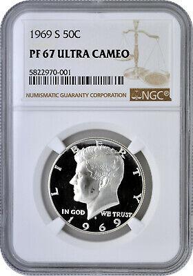 1972 S Kennedy Half Dollar NGC PF 67 Ultra Cameo