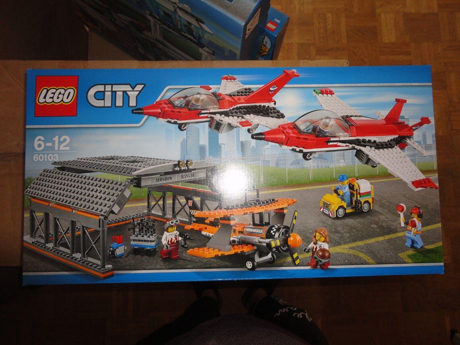 LEGO City Airport 60103-Airport Air  Show NOUVEAU & NEUF dans sa boîte  100% garantie de prix