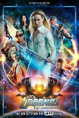 W311 DC/'s Legends of Tomorrow Hot Poster 12x18 24x36 TV Series