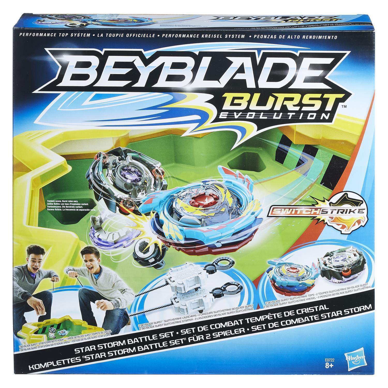 Hasbro E0722EU4 - Beyblade Burst Star Storm Battle Set - NEU - Kreisel, Arena