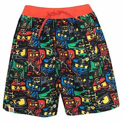 Colto Lego Ninjago Swim Shorts | Ragazzi Lego Ninjago Nuoto Trunks | Lego Swim Wear-mostra Il Titolo Originale