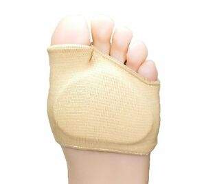 ZenToes-Fabric-Metatarsal-Sleeve-with-Sole-Cushion-4-Pack-of-Gel-Pads-USA-Ship