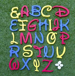 Disney-Wooden-Letter-Freestanding-Extra-Large-Personalized-Alphabets-Name-Gift