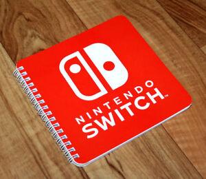 Nintendo-switch-rare-Promo-Bloc-de-notas-cuadernillo-Notepad-portatil-cuaderno