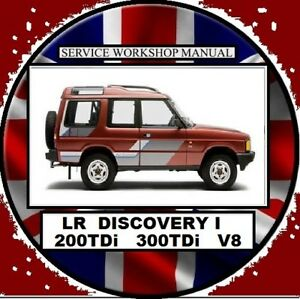 land rover discovery 1 1995 2000 200tdi 300tdi v8 workshop repair rh ebay com au Land Rover Discovery Sport land rover discovery 200 tdi workshop manual pdf