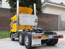 Add-on Tamiya 1/14 RC Semi Tractor GlobeLiner King rear headache Aluminum Rack