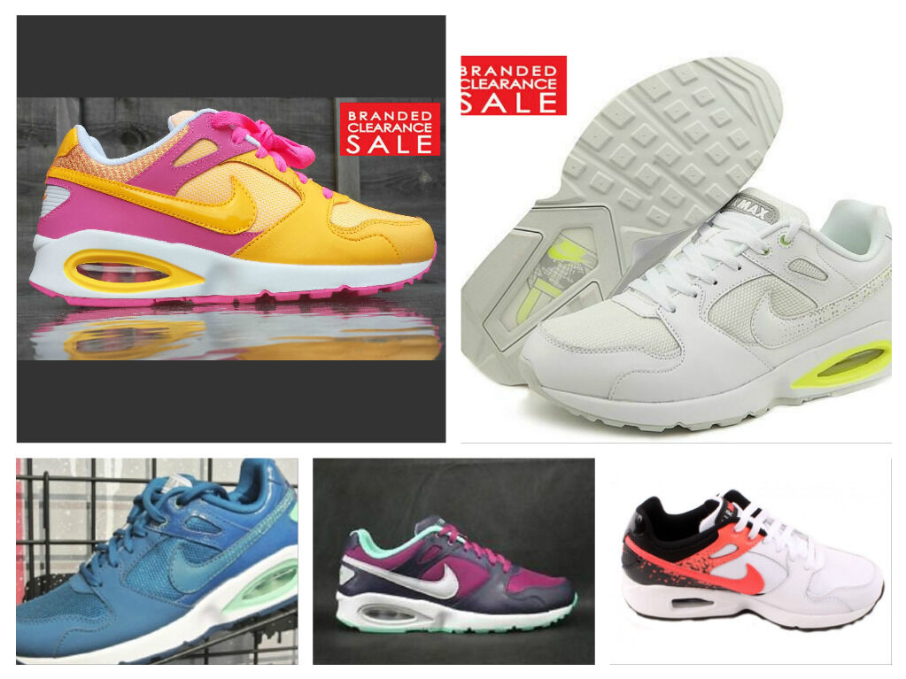 BNIB Damens Nike Air Max Coliseum Orange Pink WEISS Purple Blau Trainer 4 5 6 7 8