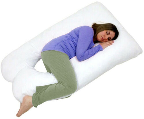Pregnancy//Maternity Pillow 9 FT Large U-Shape Full Body and Back Support