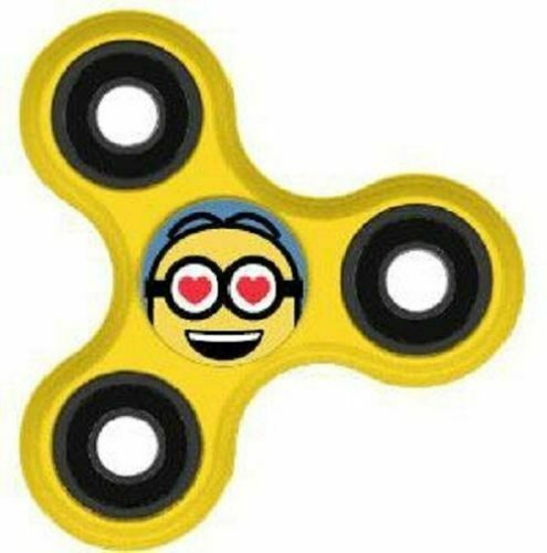 Ich Einfach Unverbesserlich Fidget Despicable Me Tribe Minion Spinner Lover NEU