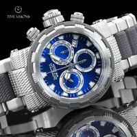 Invicta Men's 46mm Specialty Capsule Blue Dial Quartz Chronograph Bracelet Watch