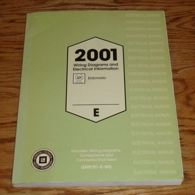 Original 2001 Cadillac Eldorado Electrical Wiring Diagrams