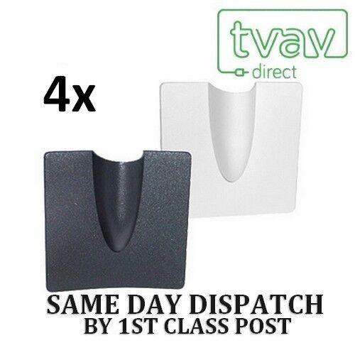 2x white /& 2x black 4 x BURST BRICK CABLE COVER ENTRY