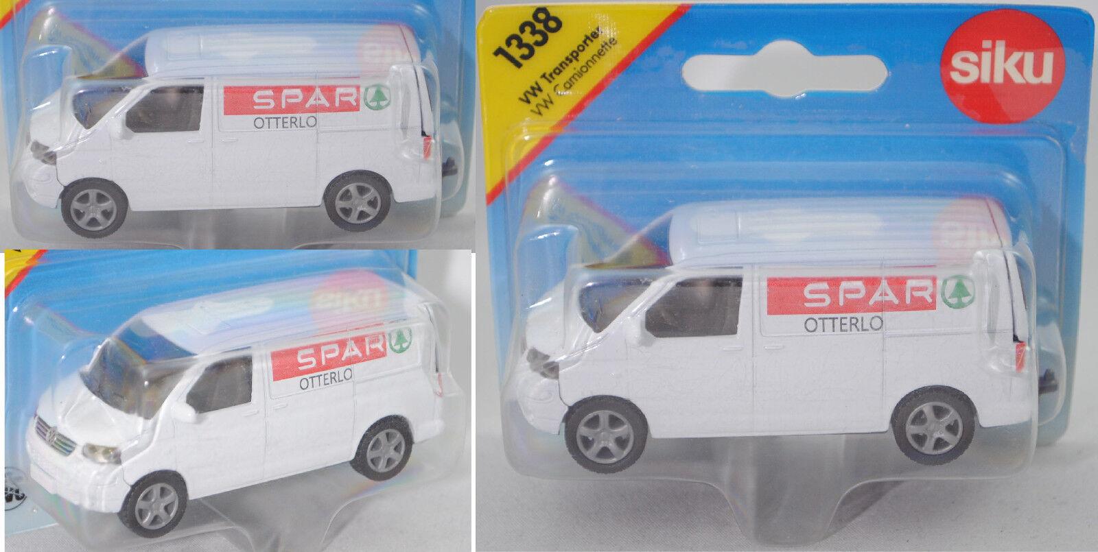 SIKU SUPER 1338 00423 vw t5 Transporteur Spar Otterlo, modèle spécial