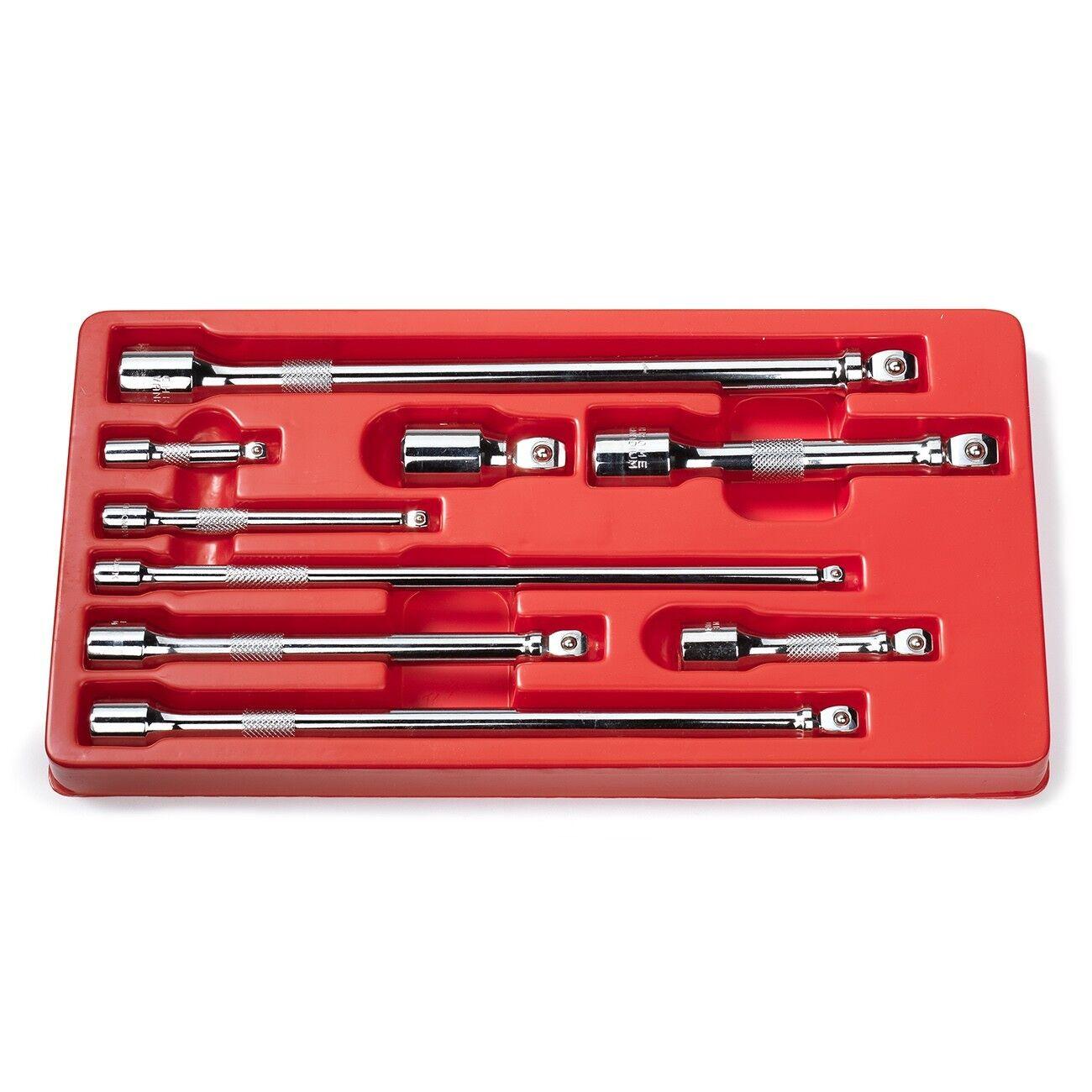 WOBBLE SET webdeals2015 9 Pc Set Wobble Socket Extension 1/4 3/8 1/2 Drive Ratchet Socket Wrenches
