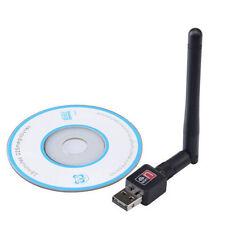 802.11n/g/b 150Mbps Mini USB WiFi Wireless Adapter Network LAN Card + Antenna  L