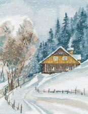 """2/"""" Counted Cross Stitch Kit OVEN PK-014 /""""Native harbour"""