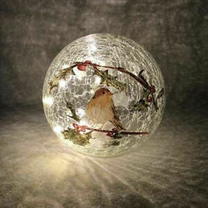 Xmas Festive Display Light Ornament 40cm Christmas Wreath Deluxe Pre-Lit LED